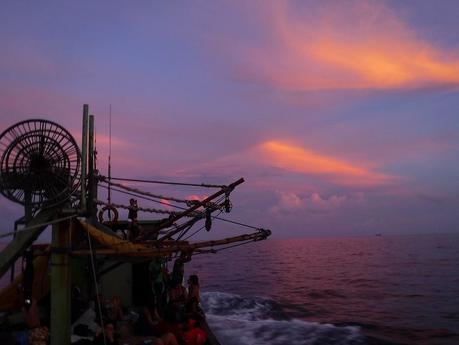 Sunrise over North Sulu Sea
