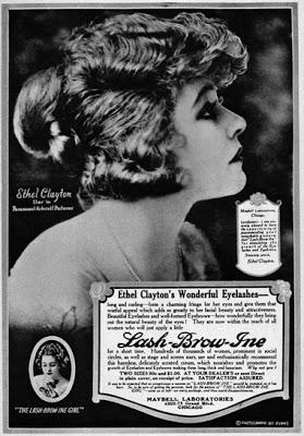 1920s Hollywood Star's featured in Maybelline Ads