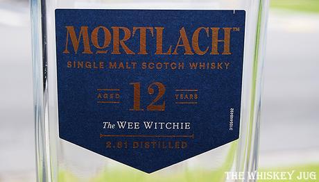 Mortlach 12 Label