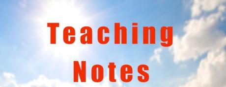 Teaching Notes: On Examining Yourself