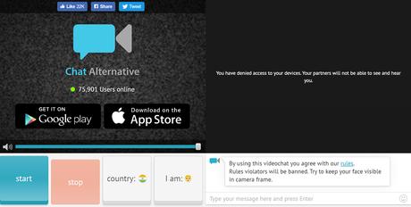 omegle alternative - chat alternative