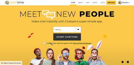 chat spin - omegle alternative