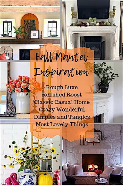 Fall Mantel Inspiration