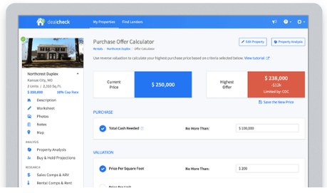 DealCheck.io  Review 2019: Real Estate Analysis Software (Worth It ??)