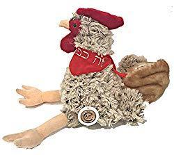 Image: Stuffed Chicken for Kaparos for Children