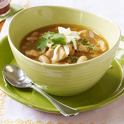 Easy & Healthy White Bean Chicken Chili