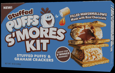 Stuffed Puffs S'mores Kit: The Perfect S'mores…Indoors