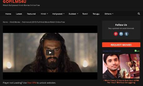 Gofilms4u – Download Bollywood, Hindi, Tamil, Telugu, Malayalam movies