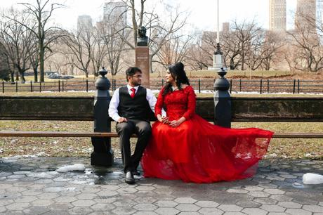 Getting Married in Central Park in February