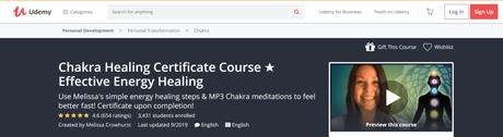 [Updated] List of 8 Best Chakra Healing Courses & Certifications 2019 Starts @$15