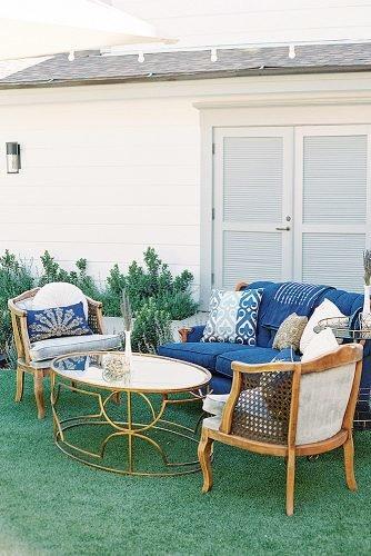 outdoor wedding ideas lounge zone