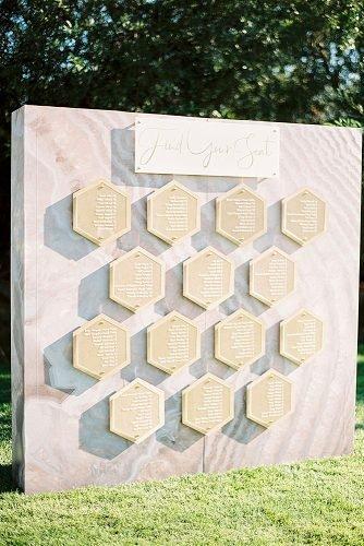 outdoor wedding ideas seating chart installation