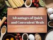 Advantages Quick Convenient Meals