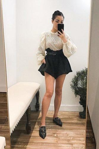what to wear to an engagement party black and white outfit