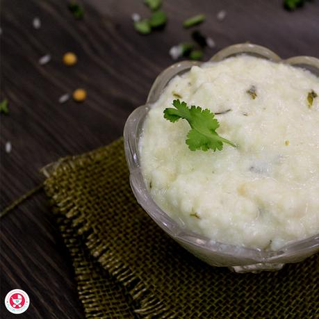 Here is a nutritious as well as yummy coriander curd khichdi recipe for you! The ingredients are highly nutritious & help in growth and development of baby.