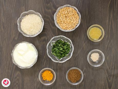 How to make Coriander Curd Khichdi?