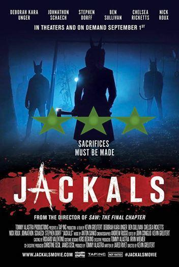 ABC Film Challenge – Horror – J – Jackals (2017)