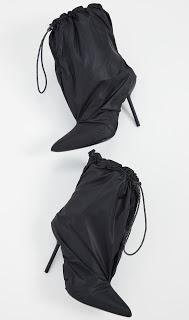 Shoe of the Day | Unravel Project Nylon Mule Booties