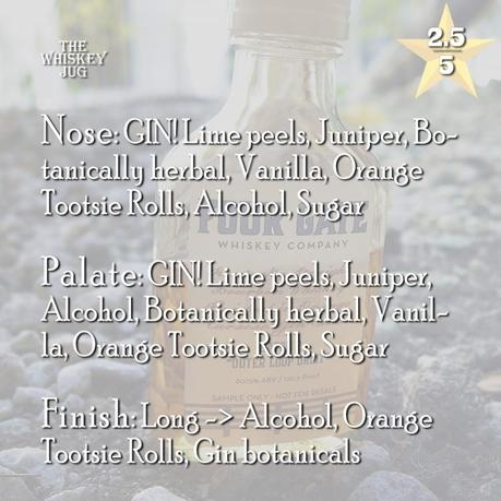 Four Gate Whiskey Batch 2 Review (outer loop orbit)