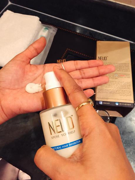 Use NEUD Natural Hair Inhibitor to get freedom from Unwanted body hair