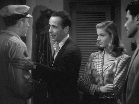 Bogart's Nautical Blazer and Cap in To Have and Have Not