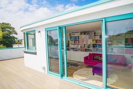 Art deco architecture - roof terrace