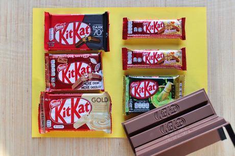 Limited-Edition Kit Kat Gold & Kit Kat Popcorn: Break One and Pass!