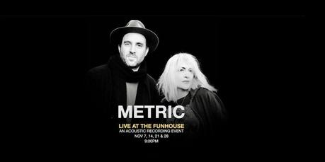 Metric Live at The Funhouse [Toronto Residency]