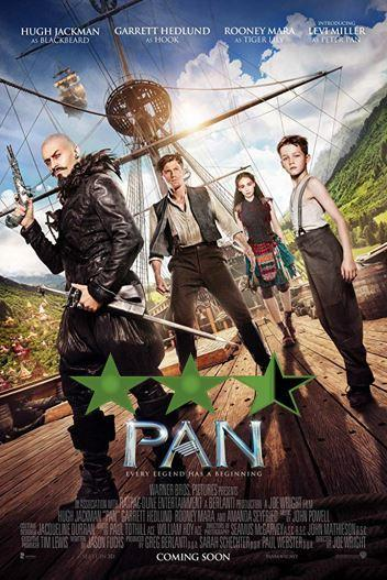 Hugh Jackman Weekend – Pan (2015)