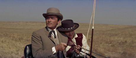 "Gregory Peck's Taupe ""City Clothes"" in The Big Country"