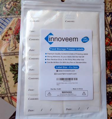 Innoveem freezer labels