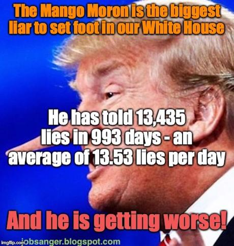 Trump Continues To Break His Own Record For Lying