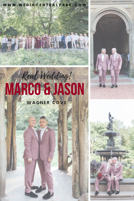 Marco and Jason's Wagner Cove Wedding