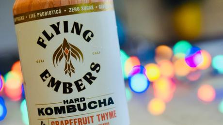 Brew Review – Flying Embers Hard Kombucha