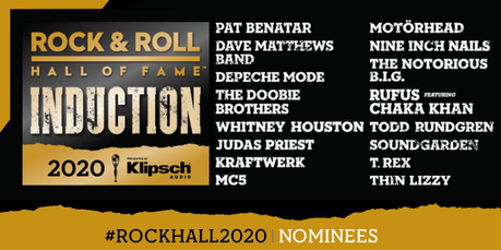 2020 Rock & Roll Hall of Fame Nominees Voting Open