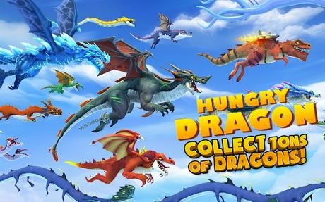 Download Hungry Dragon Mod Apk v1.31 to get Unlimited Gems and Money