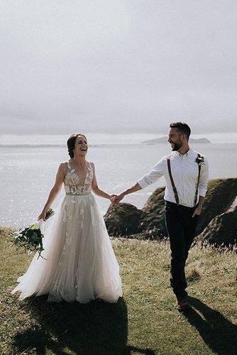 irish wedding blessing irish wedding newlyweds laughing