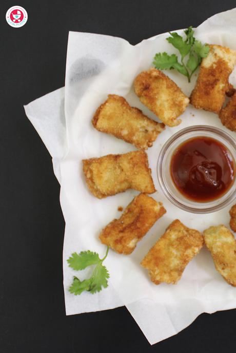Crunchy Egg Fingers Recipe
