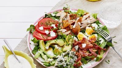 How to make keto Cobb salad