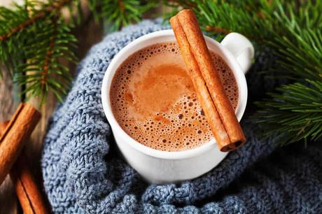 Healthy Hot Chocolate with Cinnamon