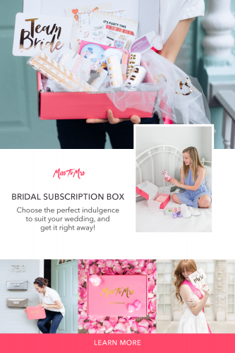 miss to mrs bridal subscription boxes best SERVICE Fast delivery, tailored plan