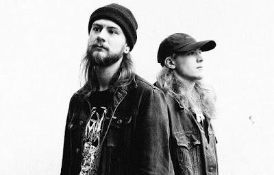 Nuclear sludge duo TUSKAR return with The Monolith Sessions EP on RIFF ROCK RECORDS