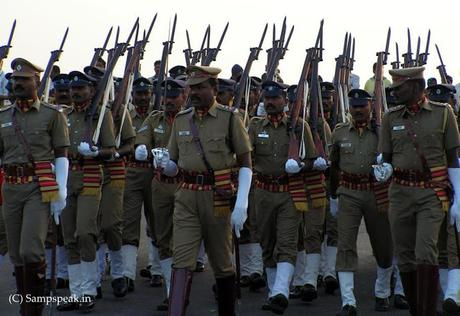 Remembering the martyrs  and saluting Police  .. ..