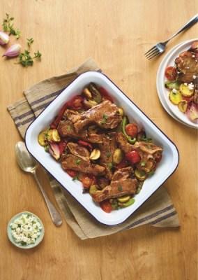 Recipe: Scotch Lamb and Tzatsiki pitta