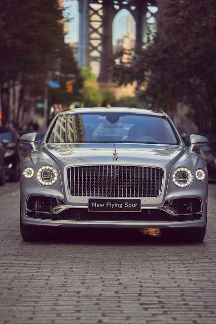 Bentley Centenary Celebration Captivates New York City