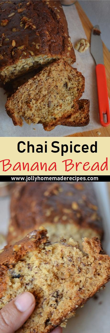 chai-spiced banana bread recipe