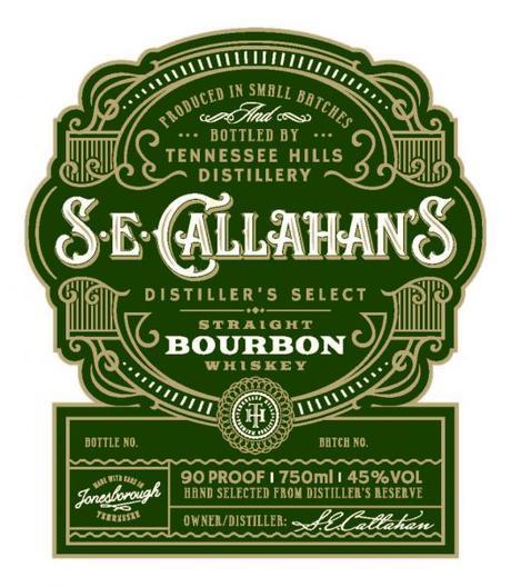 S.E. Callahan's Bourbon Label