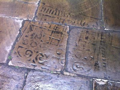 Sacred markings at St Magnus The Martyr
