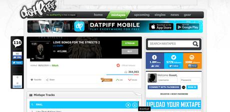 datpiff - best sites to download free mixtapes