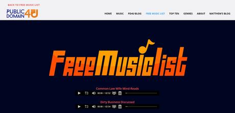 public domain 4 u - best sites to download free mixtapes